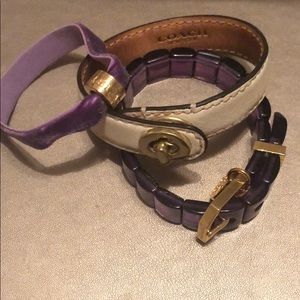 Coach Bracelet  (3 Piece Set)